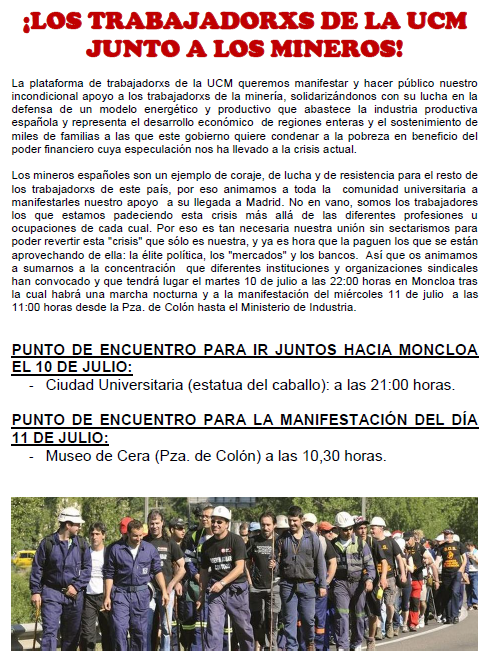 [CUO Madrid]Campaña de solidaridad con los mineros Apoyo-mineros-ucm