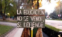 la educacion no se vende se defiende
